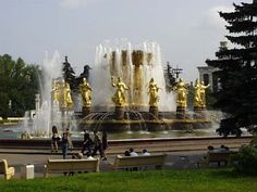 Moscow Fountains.