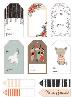 20 + Free Gift Tags to Print!