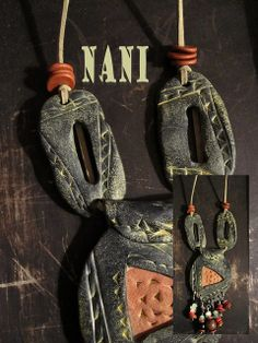 Camerún (polymer clay) by NANIPOLLITO, via Flickr