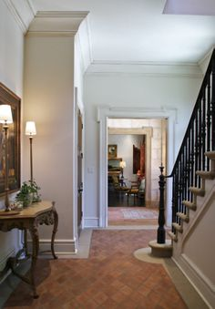 Stair Hall millwork - Menzer McClure Architects
