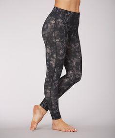 Look what I found on #zulily! Marika Black Web Tummy Control Leggings by  #zulilyfinds