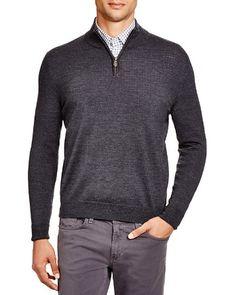 The Men's Store at Bloomingdale's Merino Quarter Zip Sweater | Bloomingdale's