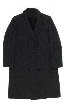 & OTHER STORIES dary grey wool coat