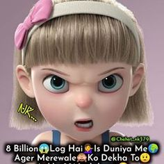 💜N❤K💜 (@chahat_nk379) • Instagram photos and videos Girly Attitude Quotes, Girl Attitude, Attitude Status, Bindas Log, Friends Forever, Funny Posts, Girly Things, Forever Quotes, Jokes