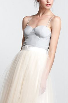 Gretta Bustier  #anthropologie