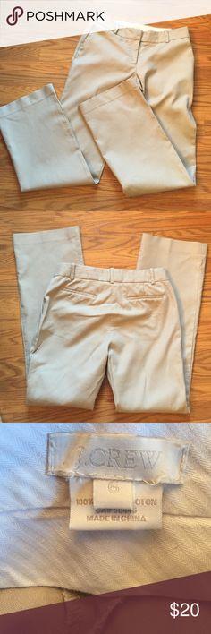 "J. Crew dress pants J. Crew khaki dress pants city fit, 100% cotton inseam 31 1/2"" J. Crew Pants Boot Cut & Flare"