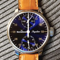 Meistersinger Singulator Watch Review wrist time watch reviews