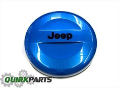 07-15 JEEP WRANGLER P255/70R18 BLUE HARD SURFACE SPARE TIRE COVER OEM NEW MOPAR #MOPAR