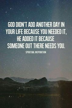 His purpose for you has not been accomplished yet...
