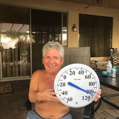 Matt Roloff posted an Instagram photot that showed him loving Arizona heat and sparked a weather debate abdout heat and humitidy.