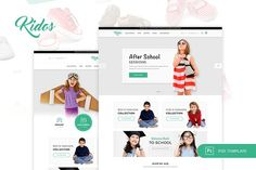 Kidos - Kids Clothing eCommerce PSD by peterdraw on @Graphicsauthor