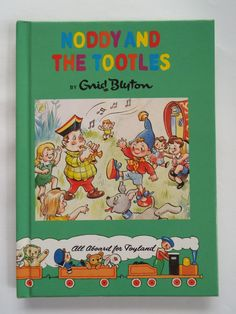 Vintage Noddy Book Noddy and the Tootles by Enid by WhyBuyVintage