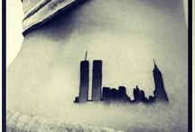 Twin towers 911 remembrance tatoo