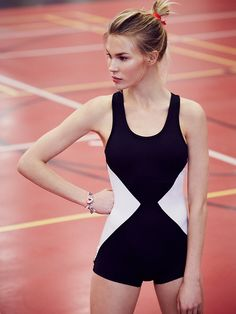 Olympia Activewear Nymphe One Piece at Free People Clothing Boutique