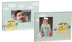 Noahs Ark 4 X 6 Wooden Picture Frames  Set of 2 * Click on the image for additional details.