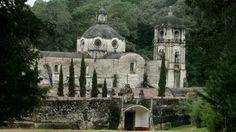 Ex convento en el Estado de México.