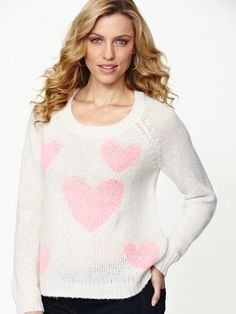 South Knitted Heart Jumper