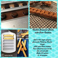 Waffle Stick Pan Recipe, Donut Pan Recipe, Waffle Pan, Waffle Sticks, Waffle Recipes, Doughnut Pan, Pampered Chef Desserts, Pampered Chef Party, Pancakes And Waffles