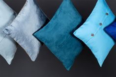 BLUE Decorative Pillows!!!, By MADURA (Much more on the website : www.madura.fr/)