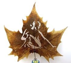 If It's Hip, It's Here: Those Crazy Leaf Carvings; What, How & Where To Buy Or Create Custom Ones.