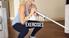 15 BARBELL EXERCISES