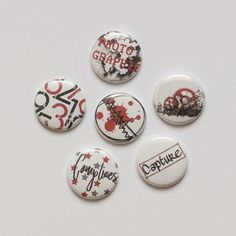 Badges  graffiti girl