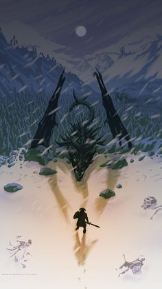 Skyrim Minimalist wallpaper by matheusmmt - da - Free on ZEDGE™ Skyrim Gif, Skyrim Fanart, Skyrim Dragon, Elder Scrolls Games, Elder Scrolls V Skyrim, Skyrim Wallpaper Iphone, Dragonborn Skyrim, Arte Cyberpunk, Minimalist Wallpaper