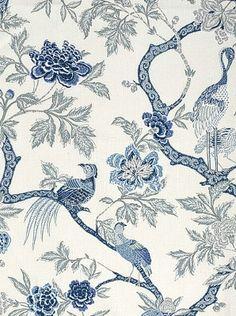 DecoratorsBest - Detail1 - Sch 174081 - Arbre Chinois - Porcelain - Fabrics - - DecoratorsBest
