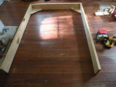 2 X 8 Bed: 5 Steps (with Pictures) Making A Bed Frame, Diy Bed Frame, Dyi Beds, Diy Platform Bed Plans, Home Projects, Projects To Try, Basic Tools, How To Make Bed, Hardwood Floors