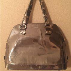 Hammitt Los Angeles handbag Metallic Hammitt handbag with gold studs. In used condition. Hammitt Los Angeles Bags Hobos