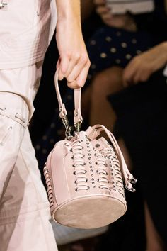 Explore the Over-the-Top Bags at Milan Fashion Week  Diesel Spring '17