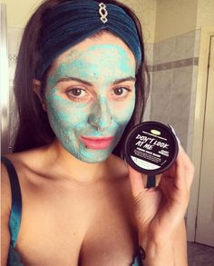 Lush Don't Look At Me Face Mask