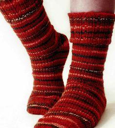 Ribbed Cuff Sock