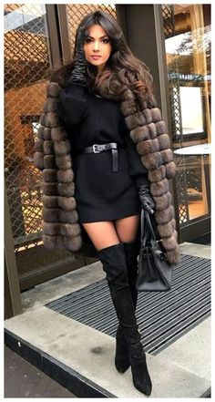 Winter Fashion Outfits, Spring Outfits, Autumn Fashion, Modest Fashion, Black Dress Outfits, Heels Outfits, Classy Dress, Classy Outfits, Mode Style
