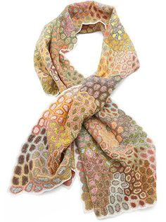 Sophie Digard Celestial Scarf in Multi
