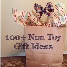100+ non toy gift ideas