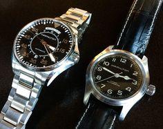 Hamilton Khaki Interstellar watches 4 - Murph's watch, Cooper's watch