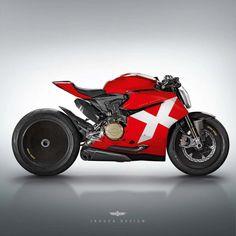 Assorted Ducati Concepts by Jakusa Design - Asphalt & Rubber Moto Scrambler, Moto Bike, Motorcycle Bike, Concept Motorcycles, Ducati Motorcycles, Custom Cafe Racer, Cafe Racer Bikes, Cafe Racers, Custom Bobber