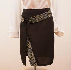 Спідниця-олівець із розрізом та з вишивкою | BurdaStyle.ua: Мода, Дизайн, Рукоділля, Викрійки