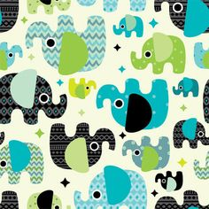 Diaper Sewing Supplies - Baby Elephants Print PUL Fabric, $13.95 (http://www.diapersewingsupplies.com/baby-elephants-print-pul-fabric/)
