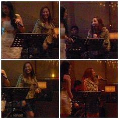 Sophia Montecarlo singing in Hyatt Hotel Malate Manila