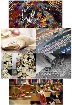 L'histoire des Métiers d'art de Chanel - stunning images of how chanel fabrics and materials are made