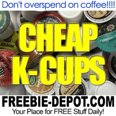 ►► 10 Ways to get Cheap K-Cups - from 25¢ - Sale - Closeouts - Clearance ►► #CheapKCups, #Coffee, #Java, #KCups, #Keurig, #Keurig20, #SingleServeCoffee ►►