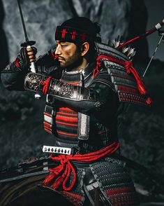 Samurai Weapons, Ancient Armor, Samurai Artwork, Ghost Of Tsushima, Shadow Warrior, God Of War, Japanese Culture, Fantasy Characters, Game Art