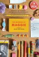 <2014 pin> The Meaning of Maggie by Megan Jean Sovern.  SUMMARY: Eleven-year-old Maggie Mayfield is an A-plus student with big plans for herself, but at this moment she is also facing a lot of problems--like starting middle school and figuring out how to help her father who is out of work and in a wheelchair.