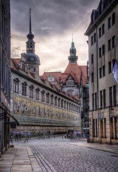 Fürstenzug - Dresden - Saxony - Germany (von Wolfgang Staudt)