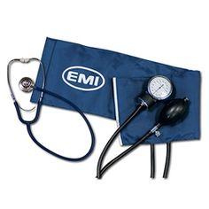 EMI Dual Head Stethoscope, Black