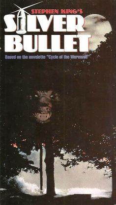 Stephen King's Silver Bullet Best Werewolf Movies, Stephen King Movies, Creepy Movies, Classic Horror Movies, Horror Movie Posters, Silver Bullet, Halloween Movies, Great Movies, Werewolves