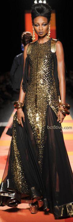 Cualquier vestido de noche puede ser tu vestido de novia ¡¡ Y te verás fabulosa y diferente!! - Jean Paul Gaultier 2013