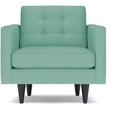 Apt2B Lexington Mint Green Chair (1,715 BAM) ❤ liked on Polyvore featuring home…
